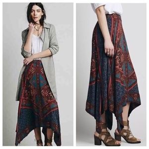 Free People Traveler Skirt - Asymmetrical hem